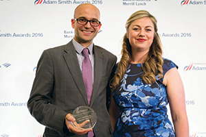 Best Card Solution, Highly Commended – Photo of Andrew New, Magnox and Meg Coates.