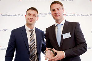 Harnessing the Power of Technology, Highly Commended – Photo of Jose Luis Marti and Neil Doyle, Microsoft.