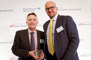Harnessing the Power of Technology, Highly Commended – Photo of Graeme Middleton and Kevin Pinnegar, Honda Motor Europe.