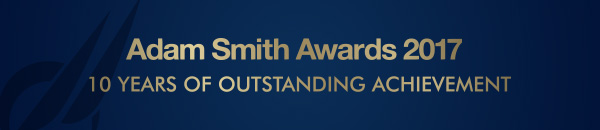 Adam Smith Awards 2017 – 10 years of outstanding achievement