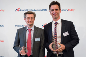 Harnessing the Power of Technology, Highly Commended – Photo of David Preston, National Grid and Robert Crowe, Reval.