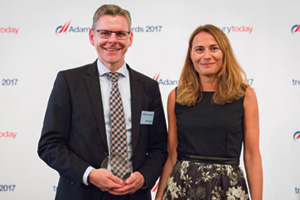 Harnessing the Power of Technology, Highly Commended – Photo of Dirk Schreiber and Gabrijela Dadic, Fresenius.