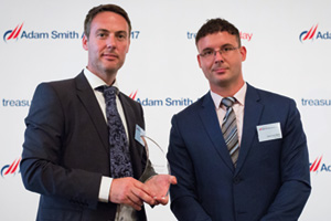 One to Watch, Winner – Photo of Neil Doyle and José Luis Martí, Microsoft.