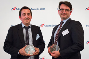 One to Watch, Highly Commended – Photo of Scott Cooper, Panini and Yann Leray, BNP Paribas.