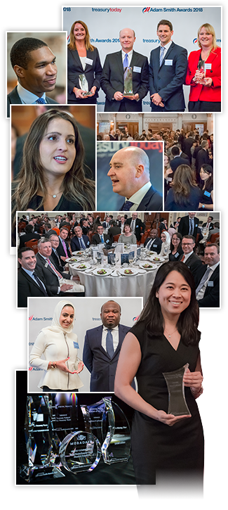 Adam Smith Awards photo montage from 2018