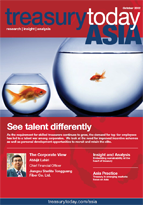 Treasury Today Asia October 2012 magazine cover