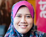 Portrait of Latifah Mohamed Yusof, Astro Group